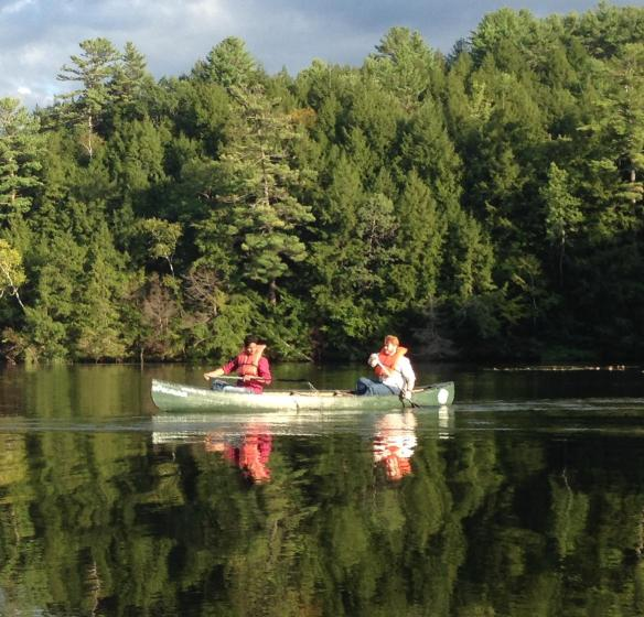 Canoeing on the Connecticut River
